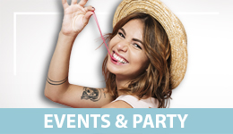 Party & Events Menú